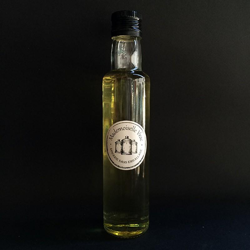 Huile d'olive au basilic